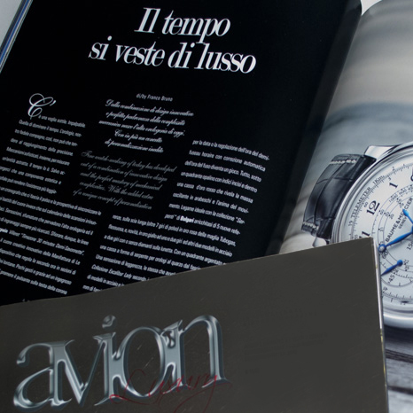 Editorial Design Avion Luxury Mag
