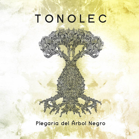 Illustration & Art Direction Tonolec Plegaria del Arbol Negro CD