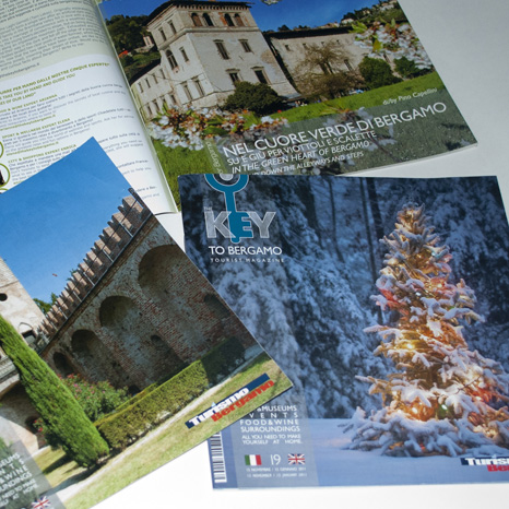 Graphic & Editorial Design The Key To Bergamo Mag