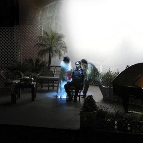 LA CAMBAILE DE MATRIMONIO SCENOGRAFIA TEATRO ROMA BUENOS AIRES