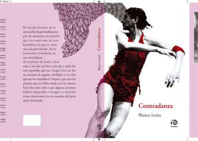 CONTRADANZA - BLANCA LEMA - COVER ILLUSTRATION COVER