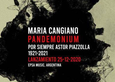 MARIA CANGIANO PANDEMONIUM POST SOCIAL 1000x1000 px
