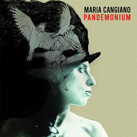 Maria Cangiano Pandemonium Cover CD art